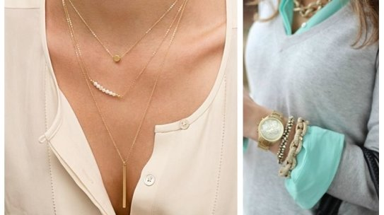 Trend Tracking: Layered Jewelry