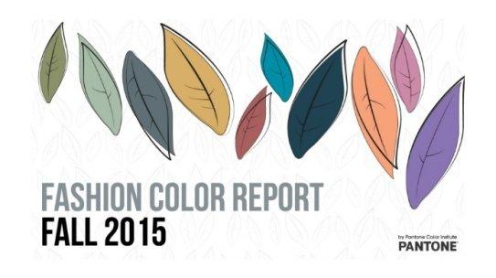 Pantone's Fall Color Palette