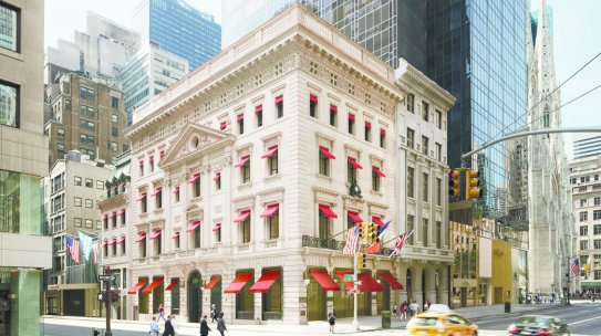 A Look at the Newly Renovated Cartier Flagship Store