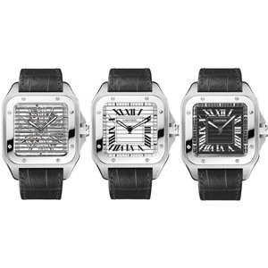 Cartier Santos Triple 100