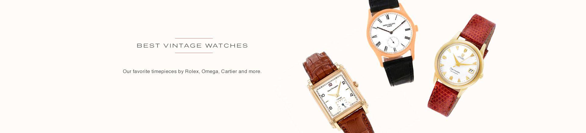 Top Vintage Watches