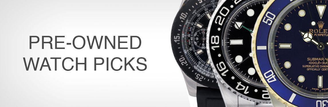 Top Pre-Owned Watch Picks