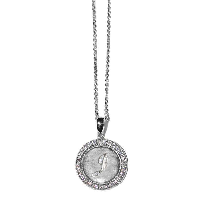 "Image of ""Anzie Royale Initial J Necklace"""