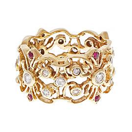 14K Yellow Gold with Prasiolite Quartz Necklace