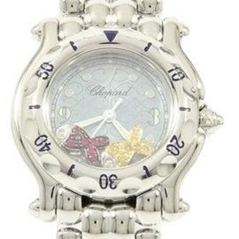 Chopard Happy Fish 2F 27 8923-402 Stainless Steel 25mm Womens Watch