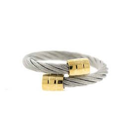 Charriol Stainless Steel and Gold Plated cableRing