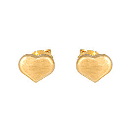 Roberto Coin 18K Yellow Gold Heart Stud Earrings