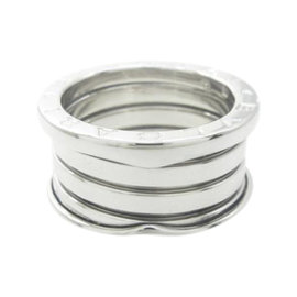 Bulgari B.Zero1 18K White Gold 4 Band Ring Size 5.75