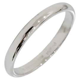 Tiffany & Co. Platinum Simple Band Ring Size 3.75