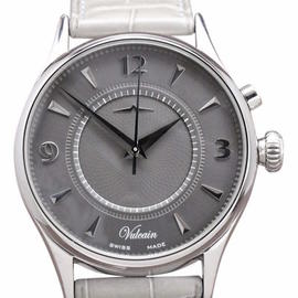 Vulcain 100117.088 Stainless Steel & Leather 39mm Watch