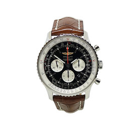 Breitling AB0127 Stainless Steel Navitimer Automatic 46mm Mens Watch