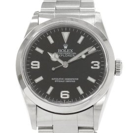 Rolex Explorer 1 14270 Stainless Steel Automatic 34mm Mens Watch