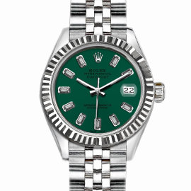 Rolex Datejust Stainless Steel with Green Dial 36mm Men Watch