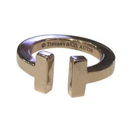Tiffany & Co. 18K Rose Gold Ring Size 4.5