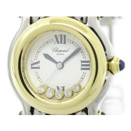 Chopard Happy Sport 27/8278-23 Stainless Steel / 18K Yellow Gold 26mm Womens Watch