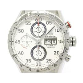 Tag Heuer Carrera CV2A11 Stainless Steel Automatic 43mm Mens Watch