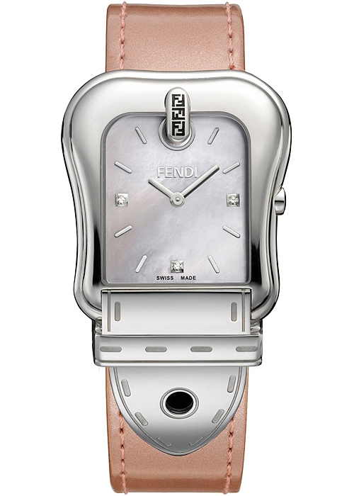 "Image of ""Fendi B. F380014571D1 Stainless Steel Quartz 43mm Watch"""