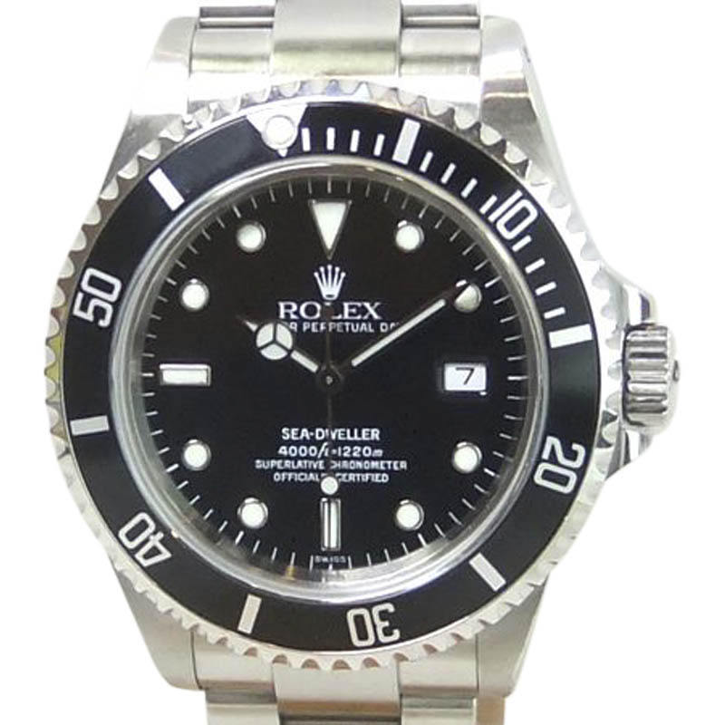 """Image of """"Rolex Sea-Dweller 16600 Stainless Steel 40mm Mens Watch"""""""