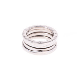 Bulgari B-Zero1 18K White Gold Ring Size 4.5