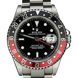 Rolex GMT Master II 16710 T Black and Red Bezel Watch