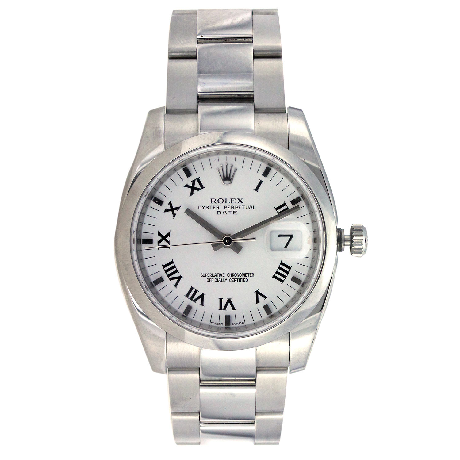 "Image of ""Rolex Datejust 36Mm Stainless Steel"""