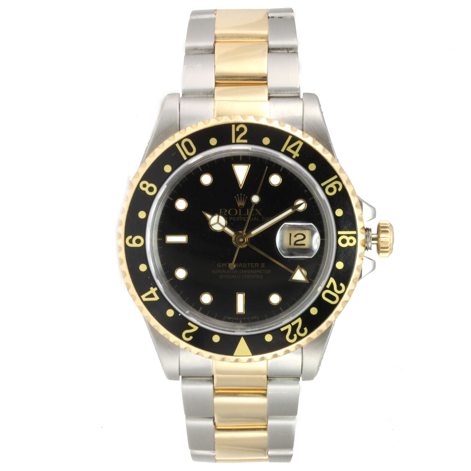 "Image of ""Rolex GMT Master II Steel and Yellow Gold"""