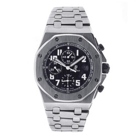Audemars Piguet Royal Oak Offshore Chronograph with Black Dial