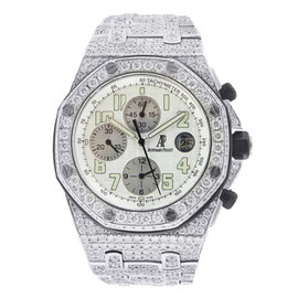 Audemars Piguet Royal Oak Offshore Chronograph with Diamonds