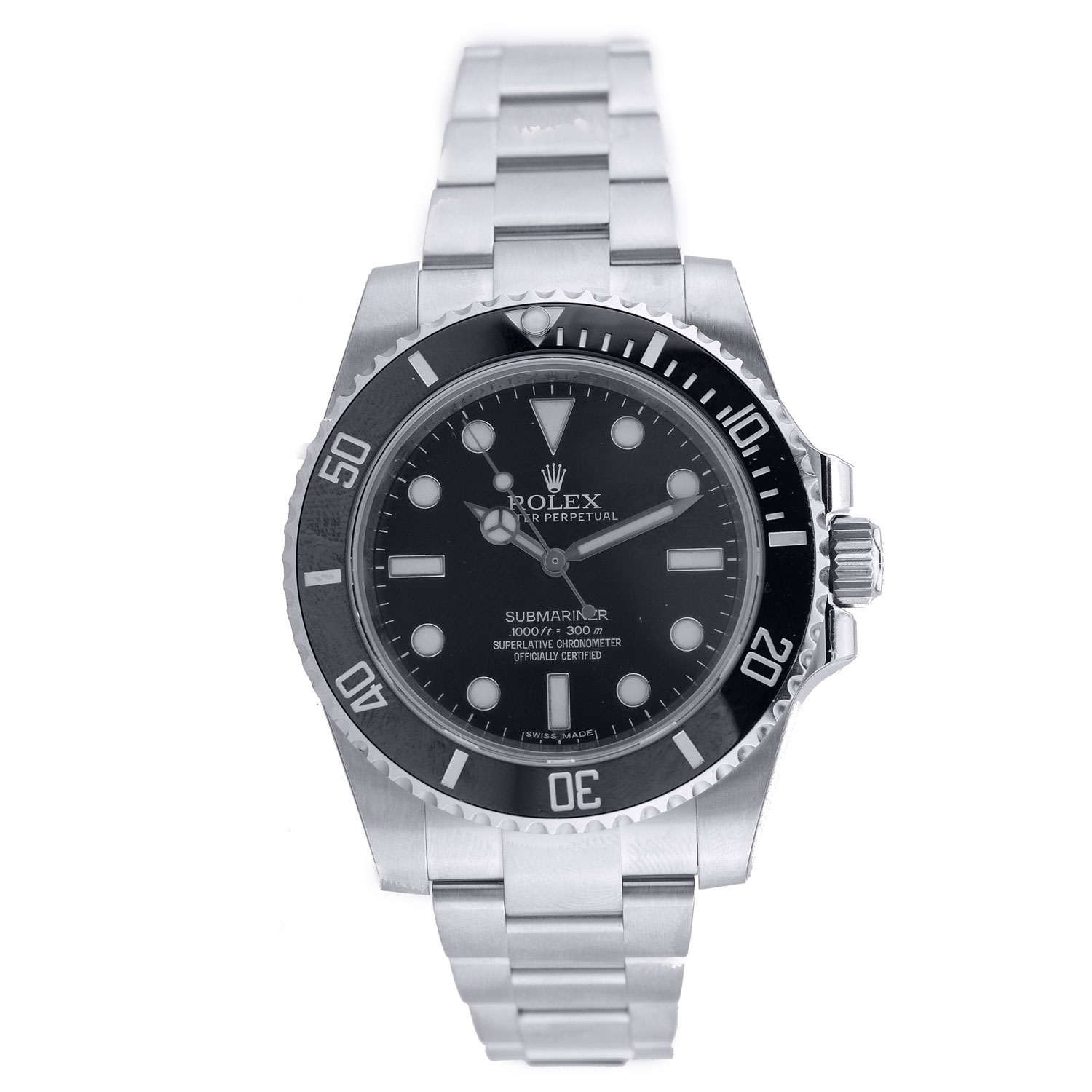 "Image of ""Rolex Submariner No Date Stainless Steel"""