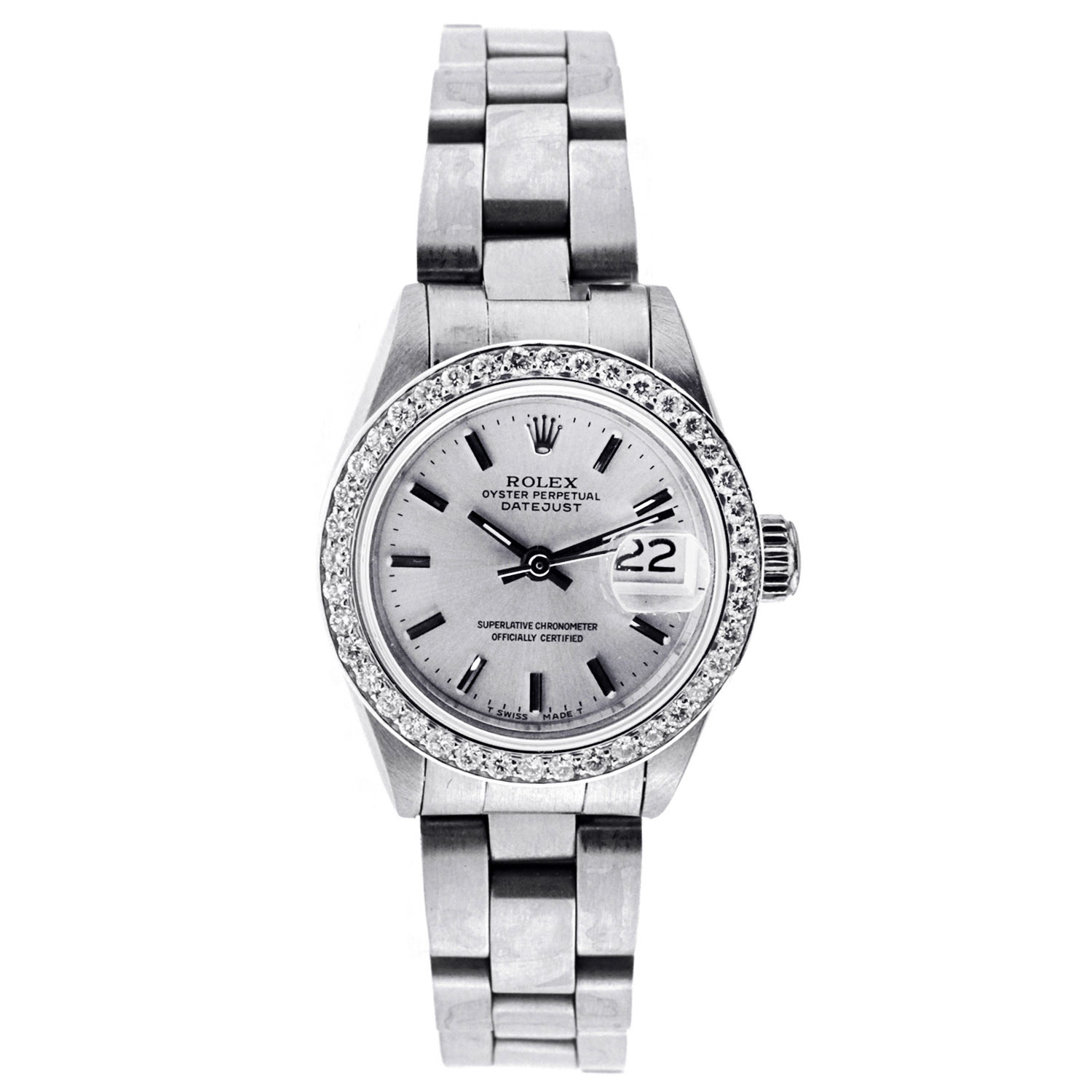 "Image of ""Vintage Rolex Datejust Lady 26Mm Stainless Steel"""