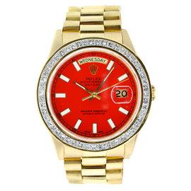 Vintage Rolex 36MM Day Date President with Diamond Bezel