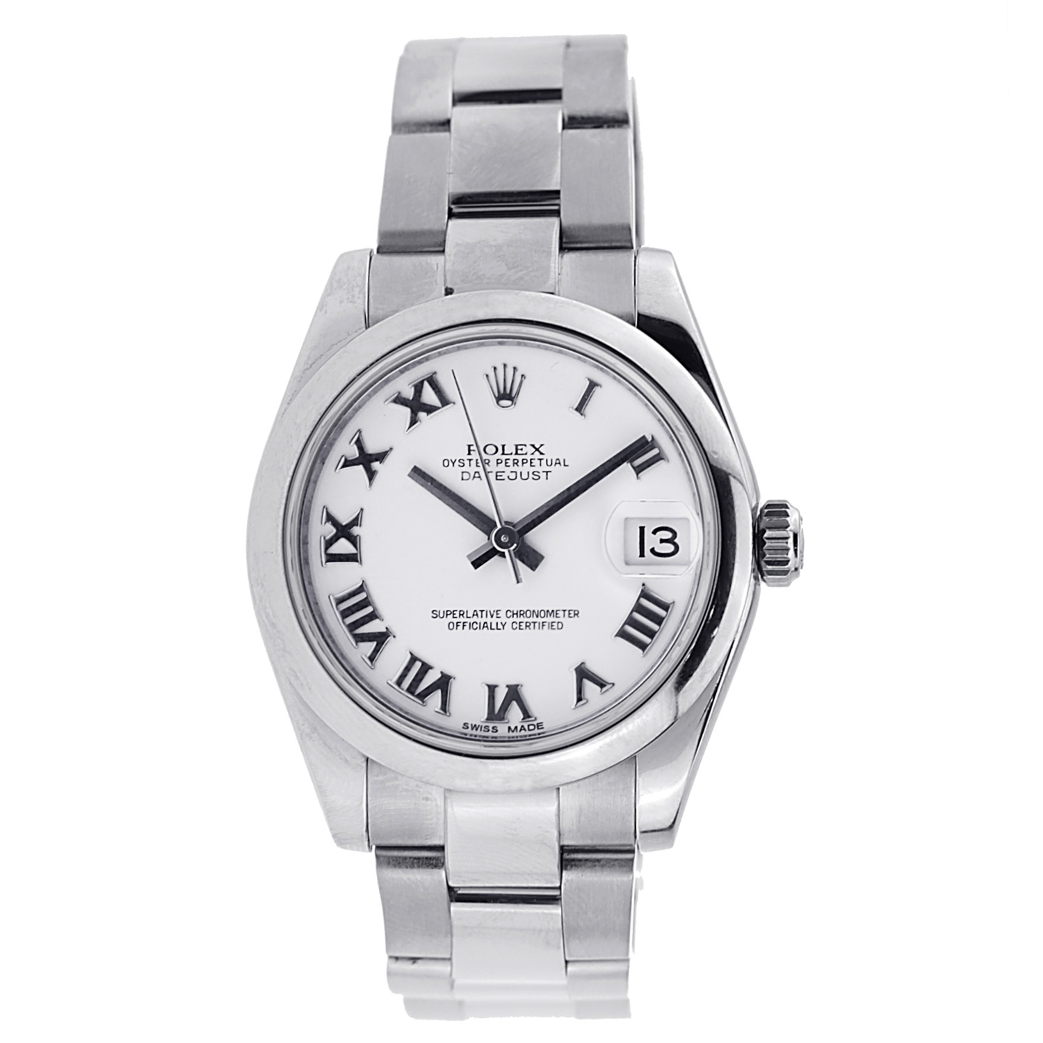"""Image of """"Rolex Datejust 31Mm Stainless Steel - 178240"""""""