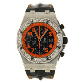 Audemars Piguet Volcano Royal Oak Offshore Chronograph Watch - 26170ST.OO.D101CR.01