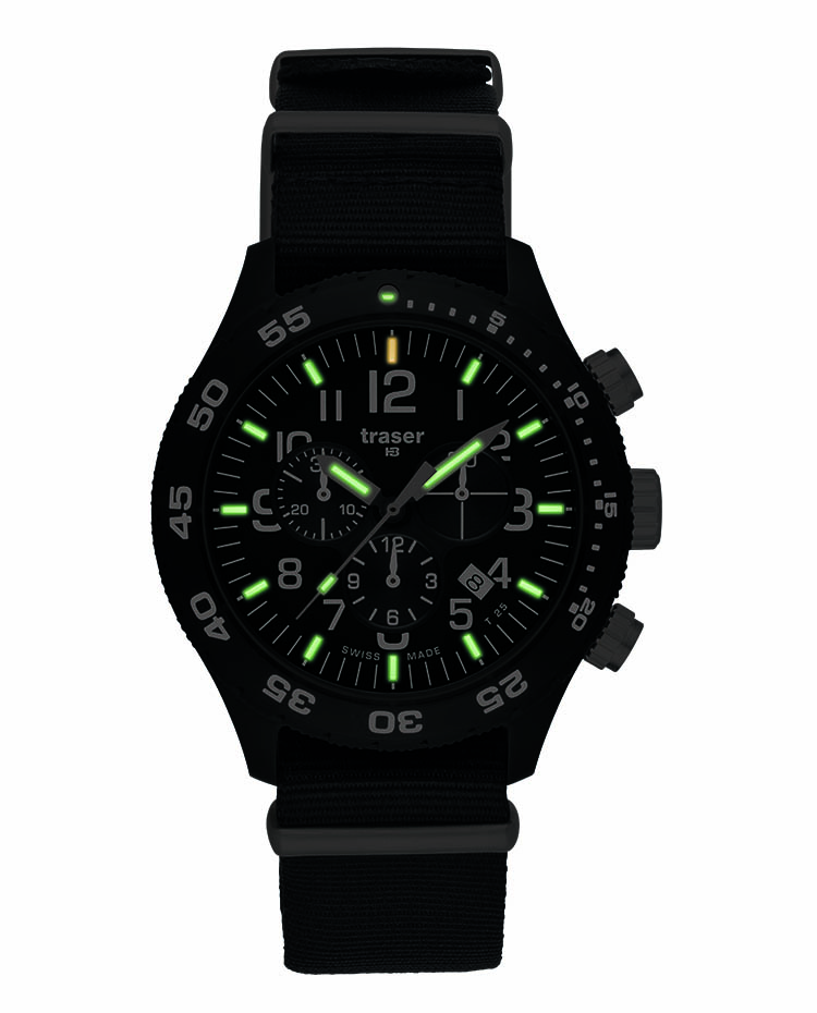 "Image of ""Officer Chronograph Pro Nato Band"""