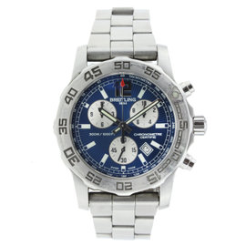 Breitling Aeromarine Colt 33 Blue Dial Stainless Steel 33mm