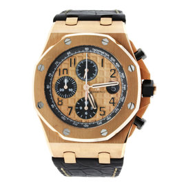 Audemars Piguet Royal Oak Offshore Rose Gold Leather Strap