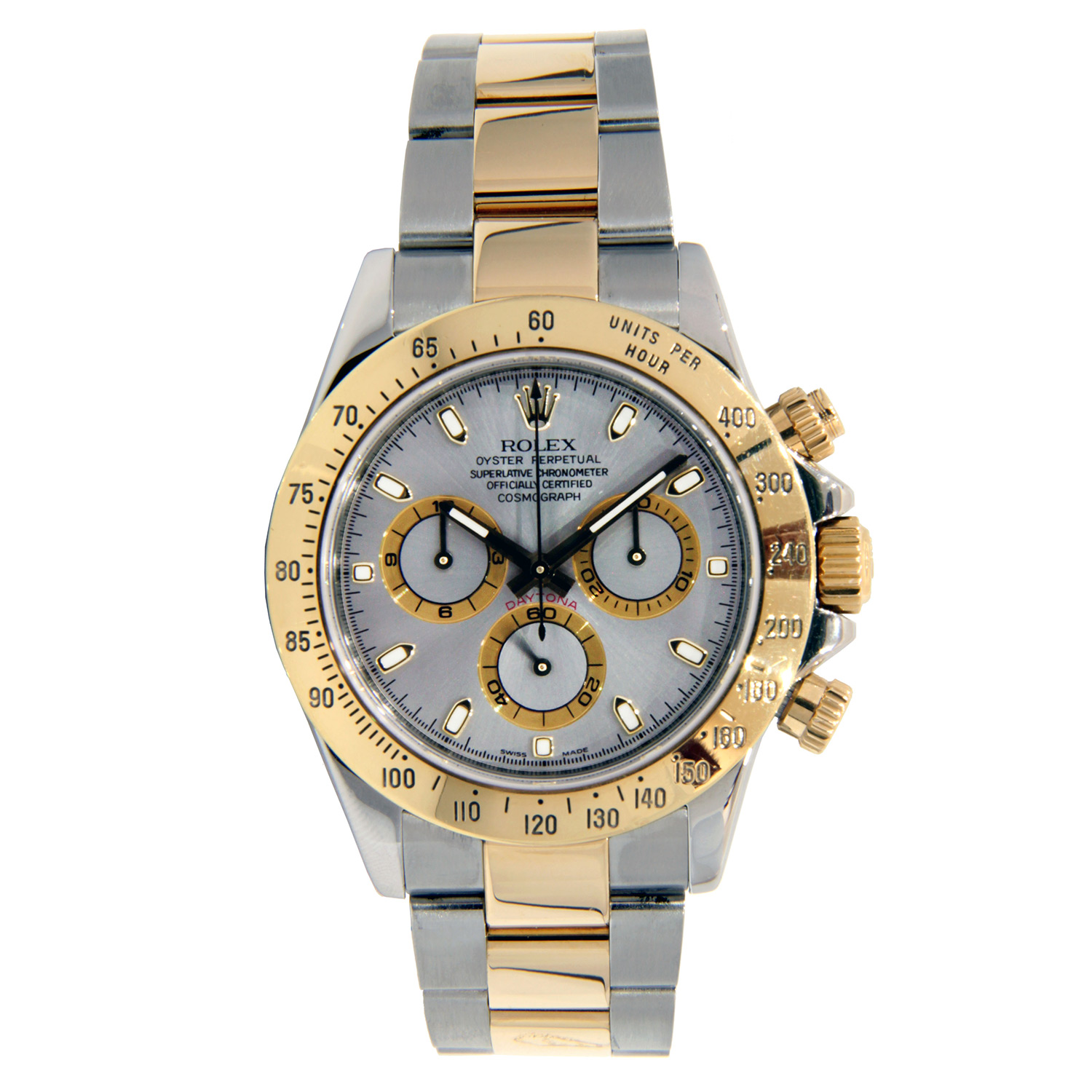 """Image of """"Rolex Daytona Stainless Steel & Yellow Gold 40mm"""""""