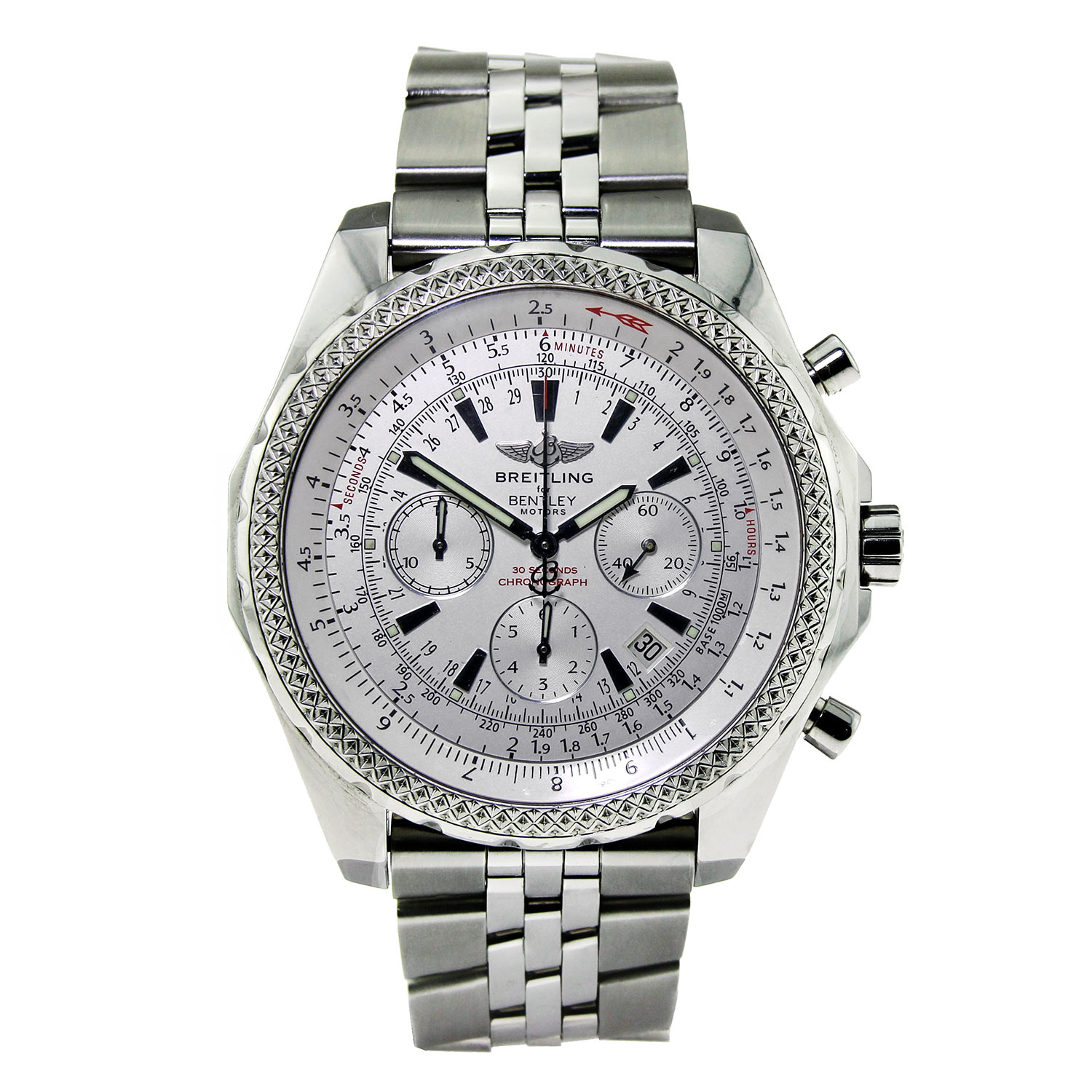 """Image of """"Breitling for Bentley Special Edition in Stainless Steel"""""""