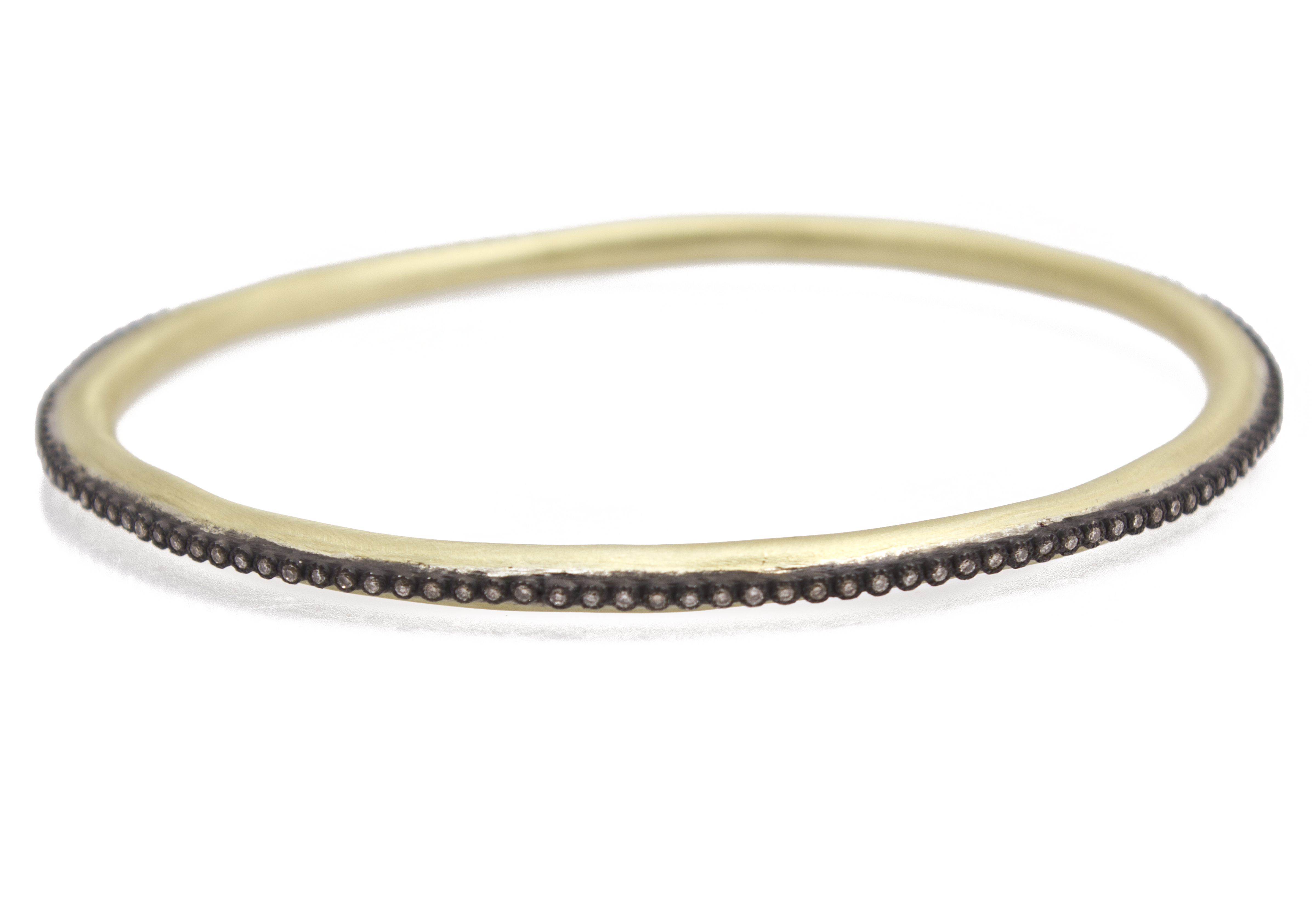 "Image of ""Armenta 18k Yellow Gold; Blackened Sterling Silver Bracele"""