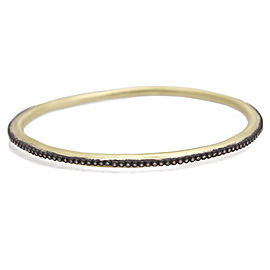 Armenta 18k Yellow Gold; Blackened Sterling Silver Bracele