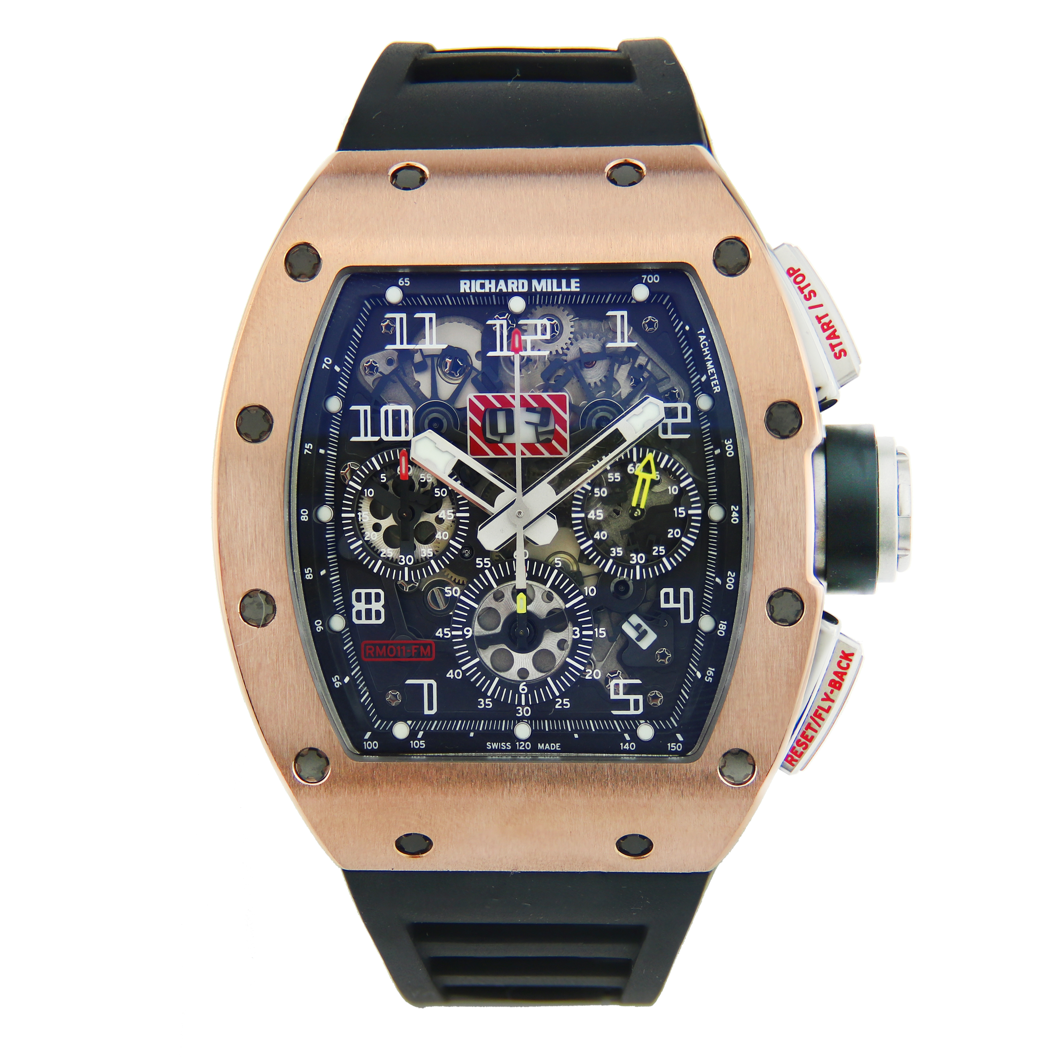 "Image of ""Richard Mille RM 011 Felipe Massa Rose Gold"""