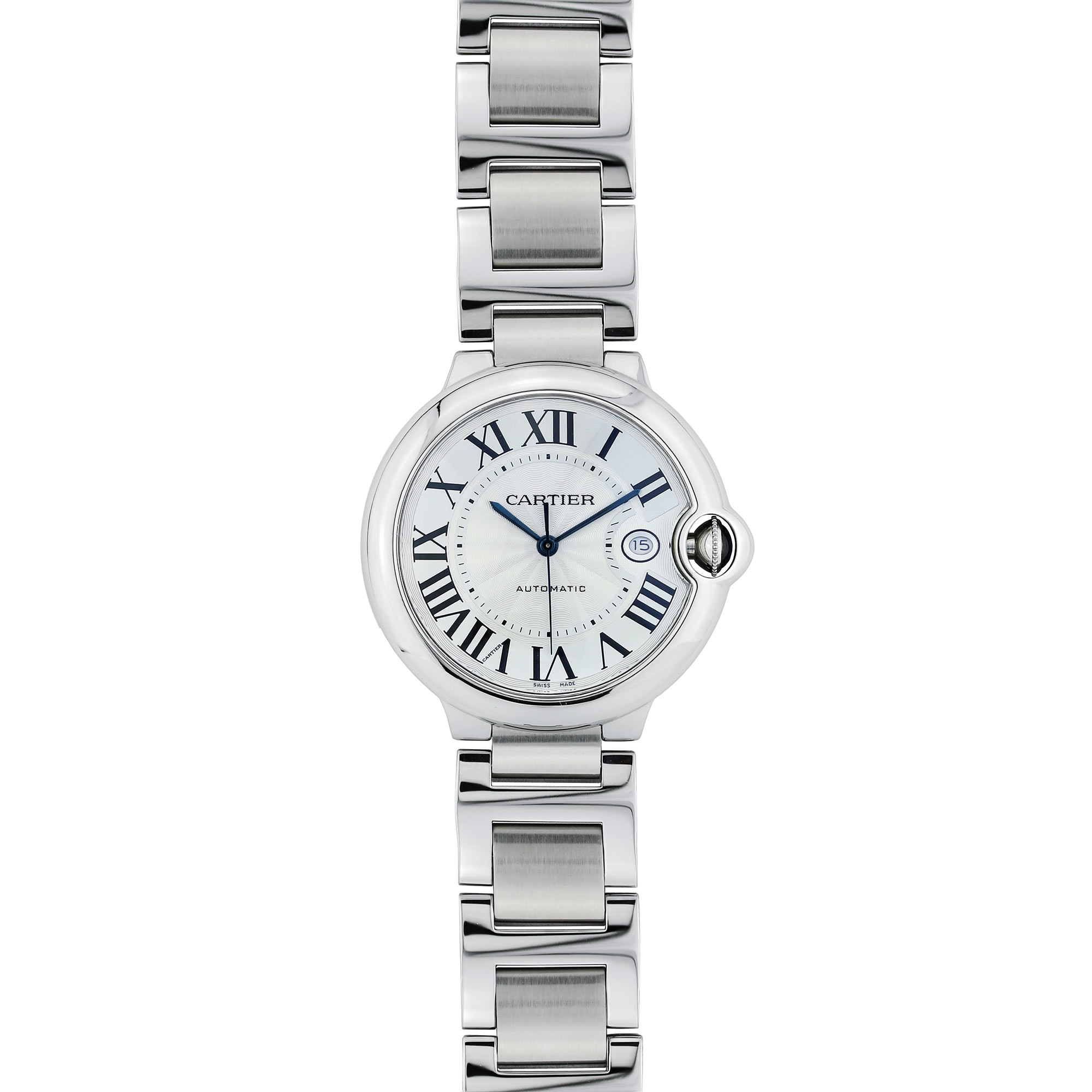 Cartier Ballon Bleu Stainless Steel Large Size Stainless Steel Watch