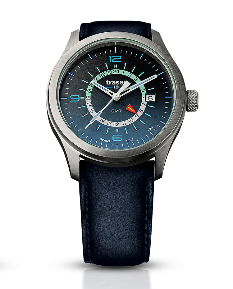 "Image of ""Aurora Gmt Blue Leather"""