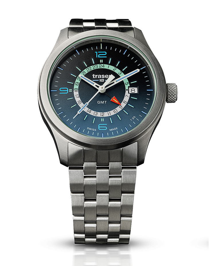 "Image of ""Aurora Gmt Blue Stainless Steel"""