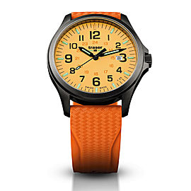 Officer Pro Gunmetal Orange