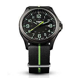 Officer Pro Gunmetal Black/lime