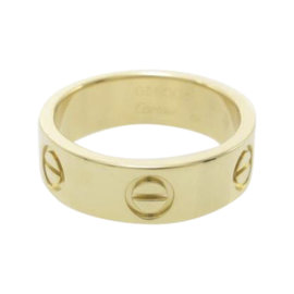 Cartier Love 18k Yellow Gold Ring 5.25