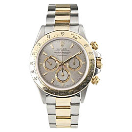 Rolex Daytona 16523 18K Yellow Gold & Stainless Steel 38mm Mens Watch
