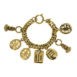Chanel Gold 7 Charm Bracelet