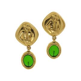 Chanel Gripoix Mademoiselle Drop Earrings